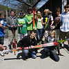Manchester: Students in the Manchester Essex School District are hoping to start a ski team this winter, which would include both the middle and high school. Shown here are: (back row l-r) Mike Caissie, Andrew Glidden, Brian McAuliff, Sean Desmond, Megan Jones, Patrick Hagar, Ben White, Chloe Schwartz, and Chris Dumont. (Front row l-r): Hunter Coons and Ian Lewiecki. Photo by Kate Glass/Gloucester Daily Times Tuesday, May 12, 2009