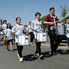 Gloucester: The Gloucester City Wide School Band marches down the Boulevard during the Memorial Day parade yesterday morning. Photo by Kate Glass/Gloucester Daily Times Monday, May 25, 2009