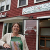 Gloucester: Melissa Donati is reopening the Willow Rest as a farm stand sandwich cafe offering fresh fruits and vegatables and baked goods. Mary Muckenhoupt/Gloucester Daily Times