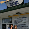 Gloucester: Rosemarie Ciaramitaro Abell and her daughter, Ali Abell, recently opened Ro's Harbor Scoops on Bass Ave in Gloucester. Rosemarie also owns the Dairy Train in Rockport. Photo by Kate Glass/Gloucester Daily Times