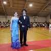 "Rockport: Rockport senior Margo Balboni and her date senior Kevin Corrigan walk the ""red carpet"" at the Rockport High School promenade held in the Stephen Rowell Gymnasium before heading to prom Friday night.  This year's Rockport High School prom was held at the Hawthorne Hotel in Salem. Mary Muckenhoupt/Gloucester Daily Times"