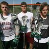 Manchester: Jim Finn, Jack Bishop, and Colin Lyne have all been key contributors to the Hornets' offense, leading them to a 13-5 record this season. Photo by Kate Glass/Gloucester Daily Times
