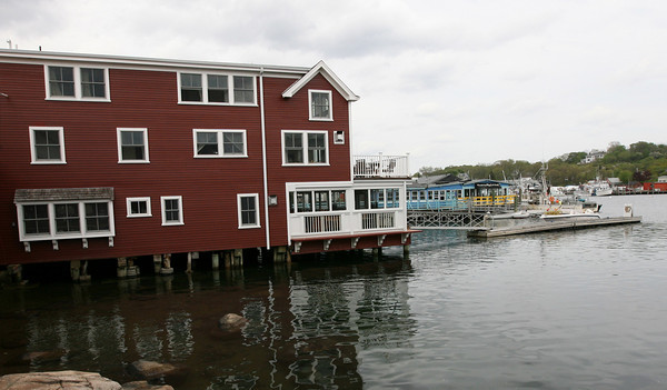 Gloucester: The Rudder on Rocky Neck recently renovated their back deck to allow them to remain open more during the off-season. Photo by Kate Glass/Gloucester Daily Times
