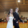 "Rockport: Rockport seniors Daria Whittaker and John Bradford walk the ""red carpet"" at the Rockport High School promenade held in the Stephen Rowell Gymnasium before heading to prom Friday night.  This year's Rockport High School prom was held at the Hawthorne Hotel in Salem. Mary Muckenhoupt/Gloucester Daily Times"
