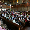"""Rockport: Over 300 people attended the first """"Tuning the Hall Community Concert"""" at Rockport Music's Shalin Liu Performance Center on Saturday. Three free concerts were performed for the public so the acousticians could hear the effects of a full house. Rockport Music's season opens June 10th. Photo by Kate Glass/Gloucester Daily Times"""