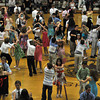 Gloucester: Students dance the Merengue at the Mad Hot Ball held at the GHS on Sunday afternoon. Desi Smith Photo/Gloucester Daily Times. May 2,2010.