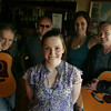 Gloucester: Marissa Lundy of Gloucester is the center of a benefit by local musicians on May 14th Upstairs at The Rhumb Line. Performing musicians are, from left, Fly Amero, J.B. Amero, Chelsea Berry and David Brown. Mary Muckenhoupt/Gloucester Daily Times