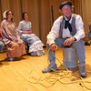 "Gloucester: Gordon Baird recites a monologue from ""The Beauport Anthologies,"" a dramatization of coloful Gloucester historical personalities, which will be performed at the Universalist Church on Middle Street on June 4 at 8 p.m. Photo by Kate Glass/Gloucester Daily Times"
