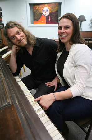 Tony and Samantha Goddess of Gloucester will be heading to Europe to tour with Tony's former band, Papas Fritas. Photo by Kate Glass/Gloucester Daily Times