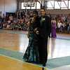 Rockport: Marabah Akers and Andrew Burnham walk the carpet during the Rockport High School Promenade last night. The prom was held at Endicott College's Tuppor Manor. Photo by Kate Glass/Gloucester Daily Times
