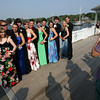 Manchester: Monique Costello, Matt Wescott, Amy Fraser, John Houston, Rachel Jones, Alex Ray, Alyssa Fabyan, Reed Parkhurst, Brittany Edwards, Burke Oppenheim, Paige Zaval and Cam D'Andrea pose for pictures at Tuck's Point before heading to the Manchester Essex High School prom at the New England Aquarium last night. Photo by Kate Glass/Gloucester Daily Times