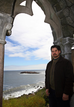 "Gloucester composer Robert Bradshaw's piece, ""Norman's Woe"" will have its world premiere during the Cape Ann Symphony's Spring Pops Concert this Saturday at 8 p.m. The piece is inspired by the rocky reef in Gloucester Harbor near Hammond Castle. Photo by Kate Glass/Gloucester Daily Times"