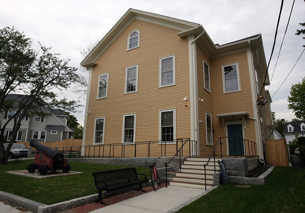 The Rockport Community House. Photo by Kate Glass/Gloucester Daily Times