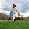 Essex: Lily Lower 4,of Gloucester runs towards her first easter egg saturday afternoon at Memorial Field.  The Easter egg hunt was sponsored by Manchester-Essex Rotary Club.  Desi Smith/Gloucester Daily Times.