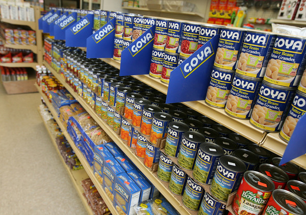 Miguel's Grocery Store sells a variety of Goya foods as well as other specialty foods such as dried chilies, exotic salsas, and masa flour. Photo by Kate Glass/Gloucester Daily Times