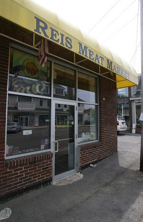 Andre Passos will be opening Passos Steak House, a Brazilian buffet and barbecue, in the former location of Reis Meat Market on Railroad Avenue. Photo by Kate Glass/Gloucester Daily Times