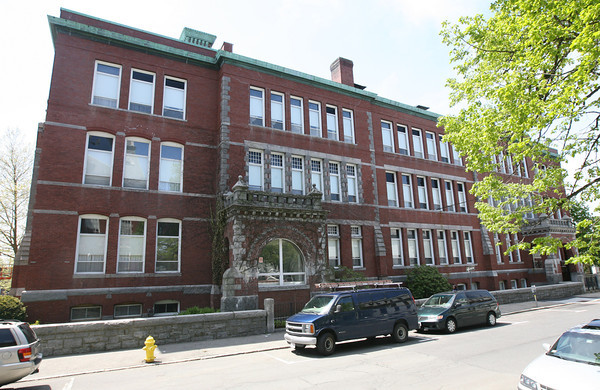 The Central Grammar Apartments on Dale Avenue in Gloucester. Photo by Kate Glass/Gloucester Daily Times