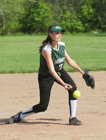 Manchester Essex pitcher Alyssa Reeves pitched 6 innings and only allowed one run during their game against Rockport at Sweeney Park yesterday. Photo by Kate Glass/Gloucester Daily Times