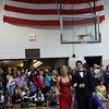 Rockport: Allie McManus and Phil MacArthur walk the carpet during the Rockport High School Promenade last night. The prom was held at Endicott College's Tuppor Manor. Photo by Kate Glass/Gloucester Daily Times