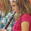Fourth-grader Elizabeth Staid plays the clarinet in band practice Tuesday afternoon. Jesse Poole/Gloucester Daily Times May 1, 2012