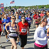 Jesse Poole/Gloucester Daily Times May 12, 2012 GLOUCESTER— Nearing two minutes into the race, runners continue to pour from behind the line of the Twin Lights Half Marathon beginning at Good Harbor Beach on Saturday morning.