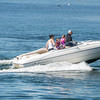 Desi Smith/Staff photo.    A family took advantage of Saturday's warm weather to take a boat ride in Gloucester Harbor.    May 14,2016