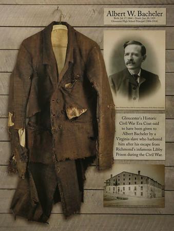 Albert W. Bacheler's Civil War Era Coat
