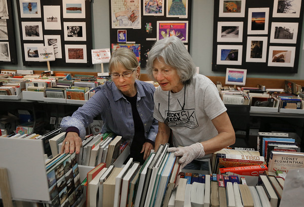 Sawyer Library Book Sale