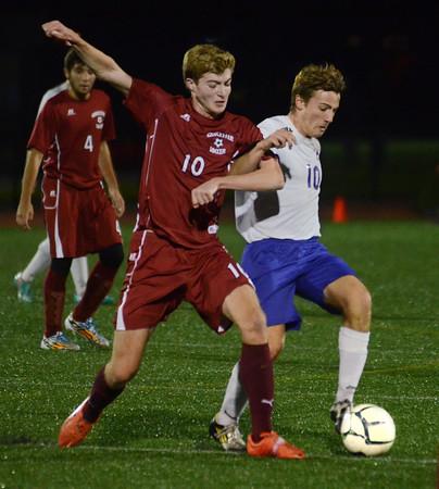 Gloucester vs. Boston Latin Soccer