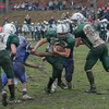 Georgetown: Manchester Essex's Ben Kekeisen gets past the Georgetown defense during their Thanksgiving game at Georgetown. The Hornets won 22-14. Photo by Kate Glass/Gloucester Daily Times Thursday, November 26, 2009
