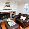 "Gloucester: The living room at 4 Leonard Street in Annisquam. The home is one of several featured in the ""Home for the Holidays"" tour on Saturday. Photo by Kate Glass/Gloucester Daily Times Tuesday, November 17, 2009"