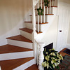 "Gloucester: The stairway at 4 Leonard Street in Annisquam. The home is one of several featured in the ""Home for the Holidays"" tour on Saturday. Photo by Kate Glass/Gloucester Daily Times Tuesday, November 17, 2009"