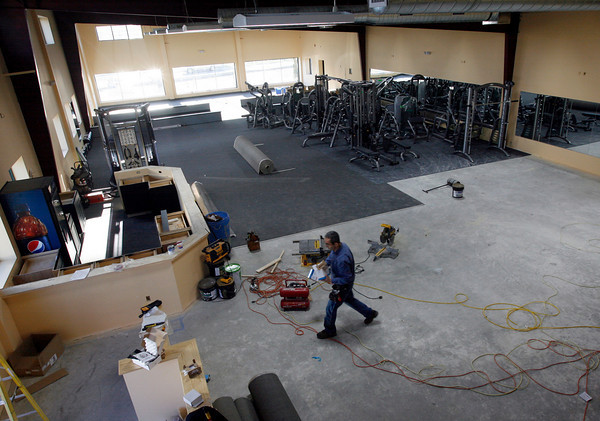 Gloucester: The Manchester Athletic Club's Gloucester location, MAC Fitness, is expected to open in early December. Photo by Kate Glass/Gloucester Daily Times Monday, November 16, 2009