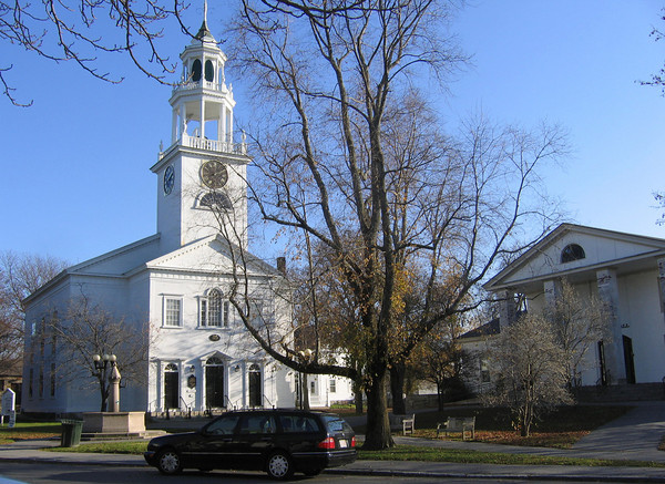 Manchester: First Parish Church, Congregational of Manchester. Photo by Jonathan Phelps/Gloucester Daily Times Wednesday, November 18, 2009