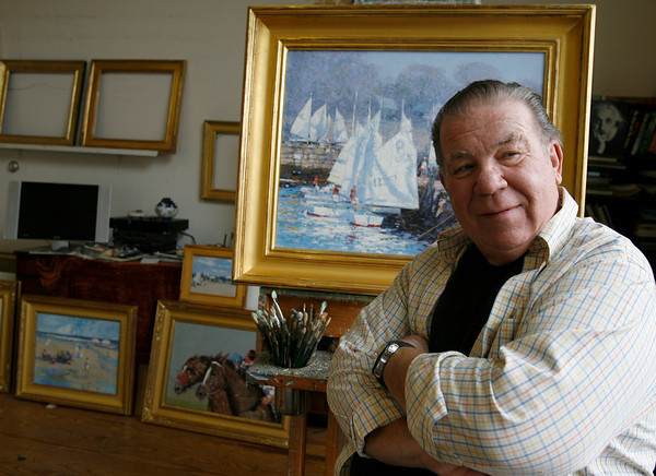 American Impressionist John Terelak is holding a major show in Boston.