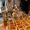 Rockport: Kathy Olson Taylor and Kristen Christopher assemble graham cracker gingerbread houses for the Rockport PTO Holiday Fair, which will be held at the High School this Saturday from 9:30-2. 300 houses are assembled each year for the fair. Photo by Kate Glass/Gloucester Daily Times Wednesday, November 18, 2009