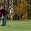 Essex: Joshua Uhlig of Gloucester gets in a round of golf Tuesday afternoon, taking advantage of one of the last warm days of the season. Photo by Kate Glass/Gloucester Daily Times Tuesday, November 10, 2009
