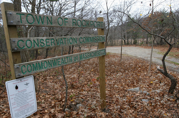 Rockport: The Rockport Board of Selectmen has submitted an Open Space and Recreation Plan to the state in an effort to secure grant money for preserving its trail system among other things. Photo by Kate Glass/Gloucester Daily Times Monday, November 23, 2009