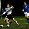Gloucester: Gloucester's Christian Towler and Danvers' Eric Marino battle for the ball night. Photo by Kate Glass/Gloucester Daily Times Monday, November 2, 2009