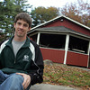 Essex: Daniel White of Boy Scout Troop 39 in Essex fixed up the pavilion at Centennial Grove for his Eagle Scout project. Along with the help from fellow Scouts, his friends and family members he replaced broken boards and painted both the interior and exterior of the structure.  MAry Muckenhoupt/Gloucester Daily Times
