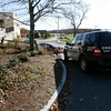 Essex: Essex Police are seeking funding for a new cruiser during Essex Town Meeting on Monday. One of their newest cruisers was hit by a boat trailer while parked outside the station earlier this summer. Photo by Kate Glass/Gloucester Daily Times Wednesday, November 4, 2009