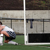 North Andover: Manchester Essex's Olivia Dumont watches in horror as Watertown's game-winning goal gets by her during the last few minutes of the Division II North Field Hockey Championship at North Andover High School yesterday afternoon. Photo by Kate Glass/Gloucester Daily Times Sunday, November 15, 2009