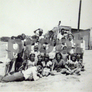 HANDOUT/Gloucester Daily Times. This photo was taken circa 1950-51 on Pavilion Beach down at the Fort. Photo taken by Ginger (Virginia) Steele Tegarden who lived at that time on 77 Commercial St.