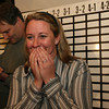 ALLEGRA BOVERMAN/Staff photo. Gloucester Daily Times. Gloucester: Melissa Cox and Bill Cox react to her Ward 2 victory on Election Night.