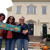 ALLEGRA BOVERMAN/Staff photo. Gloucester Daily Times. Gloucester: The Thanksgiving Harvest Market will be held at the Unitarian Universalist Church on Middle Street this Saturday. From left are: Cruz Ferreras of Gloucester, an advisory committee member, Nicole Bogin, manager of the Cap Ann Farmers Market, of Gloucester, and Maggie Mehaffey of Mehaffey Farms, of Rowley.