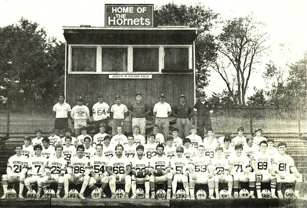 Courtesy Photo. Gloucester Daily Times. Manchester: Manchester Jr.-Sr. High School Hornet Football team.
