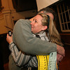ALLEGRA BOVERMAN/Staff photo. Gloucester Daily Times. Gloucester: Melissa Cox and Bill Cox celebrate her Ward 2 victory on Election Night.