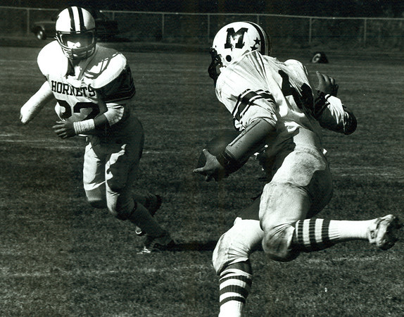 Staff file photo. Gloucester Daily Times. Manchester Hornets football.