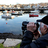 ALLEGRA BOVERMAN/Staff photo. Gloucester Daily Times. Rockport: New Jersey resident Louis Bernstein, visiting family nearby for Thanksgiving, gets a day off to himself and went to take photos around Rockport on Friday afternoon.