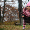 GLOUCESTER—Chloe Brennan, 9 months, of Gloucester, enjoys being pushed on a swing at the Stage Fort Park playground on Wednesday morning. Jesse Poole/Gloucester Daily Times Nov. 16, 2011